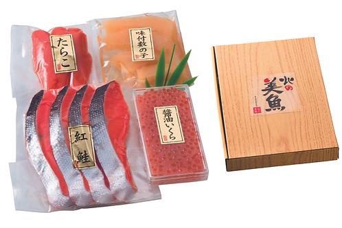 紅鮭・魚卵詰合せセット