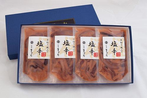 手切りの塩辛(125g×4パック)