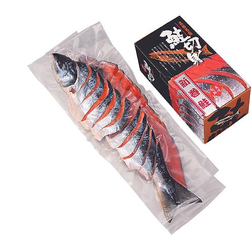 新巻鮭姿切身(4分割真空)