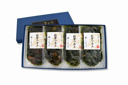 松茸ワカメ(125g×4パック)