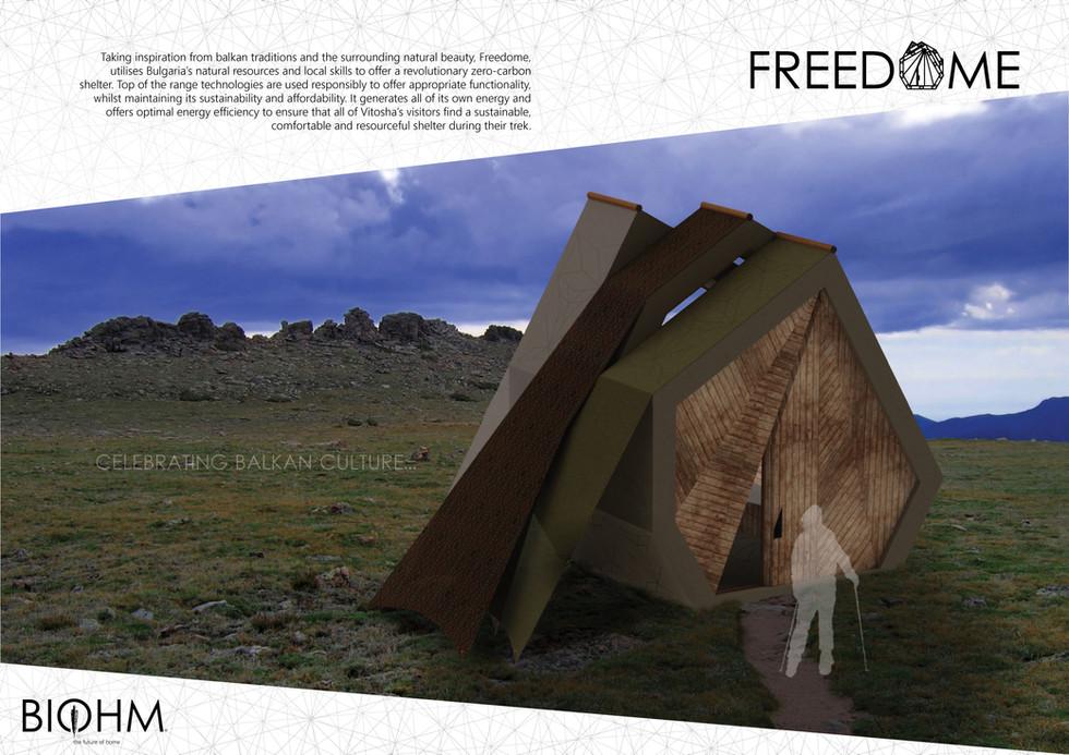 Shortlisted to build Shelter on Bulgaria's Mount Vitosha