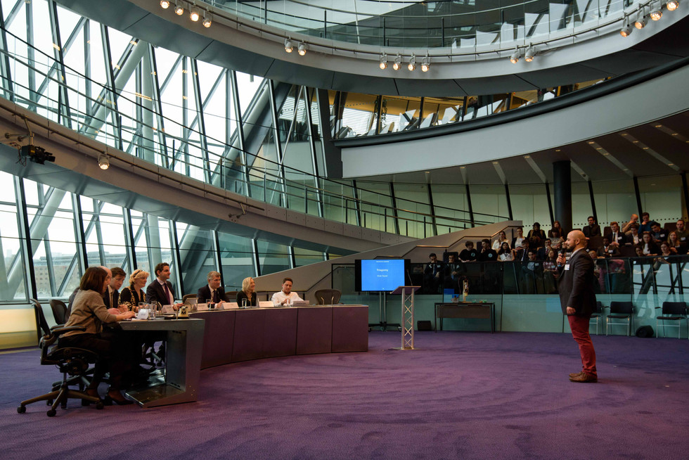 What an experience! Pitching to a panel of esteemed judges at the Mayor of London's Entrepreneur