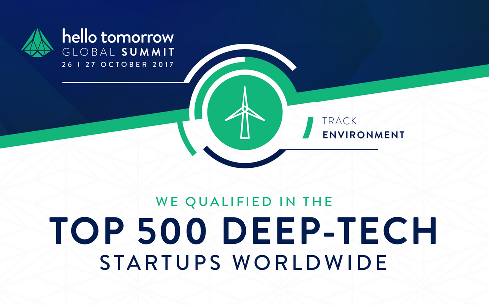 BIOHM IN THE TOP 500 DEEP-TECH STARTUPS WORLDWIDE | Shortlisted by Hello Tomorrow