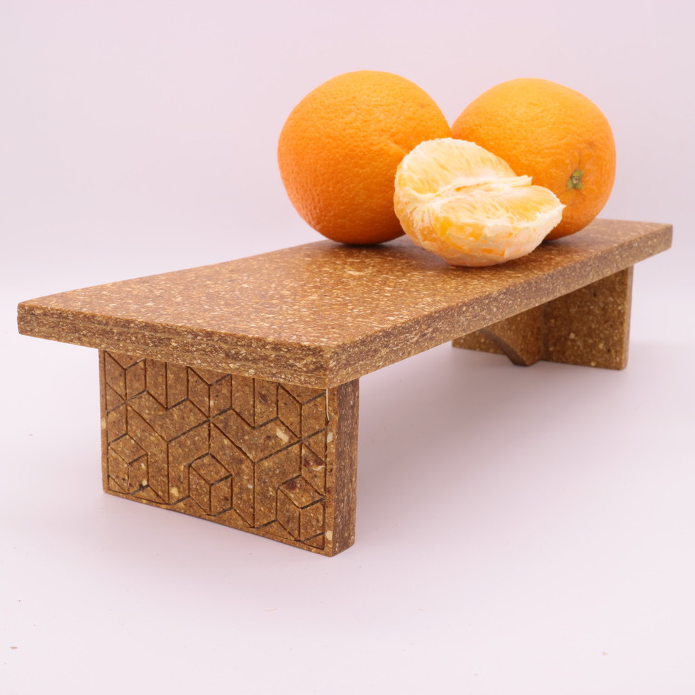 From orange peel to furniture: making materials from 'waste'