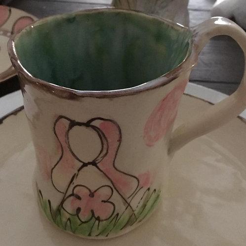 H-bunnypinkdots mug