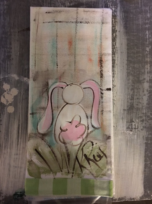 bunny hand towel 1