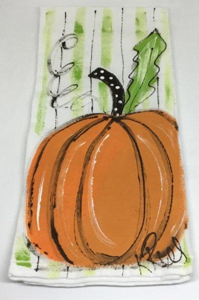 Pumpkin Hand towel