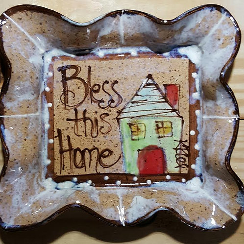 square plate bless home bc