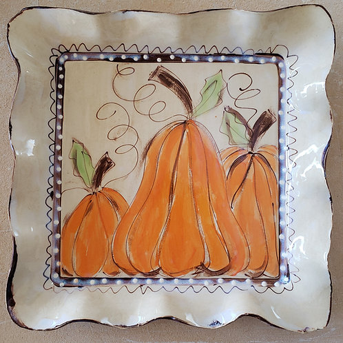 Square tray pumpkins aw 512