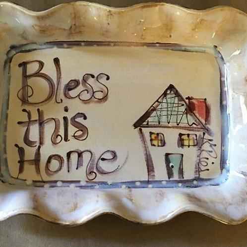 dessert plate bless home