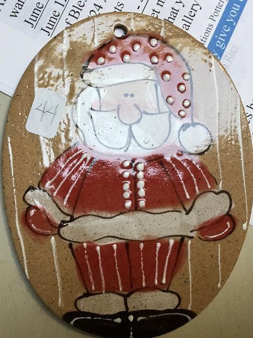 BC Santa orn