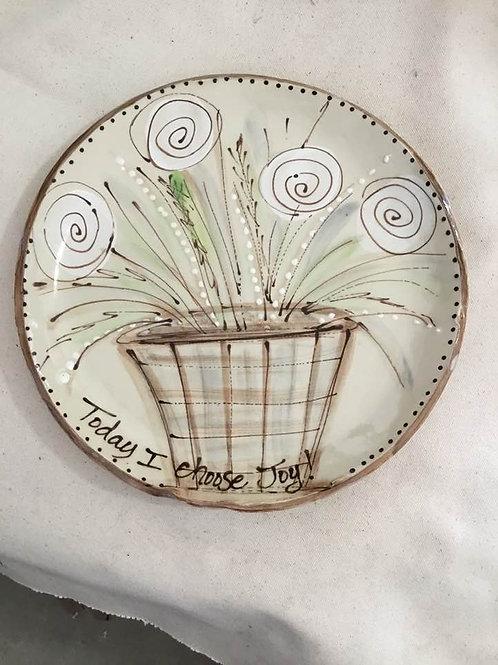 Dinner Plate Flowers - Choose Joy