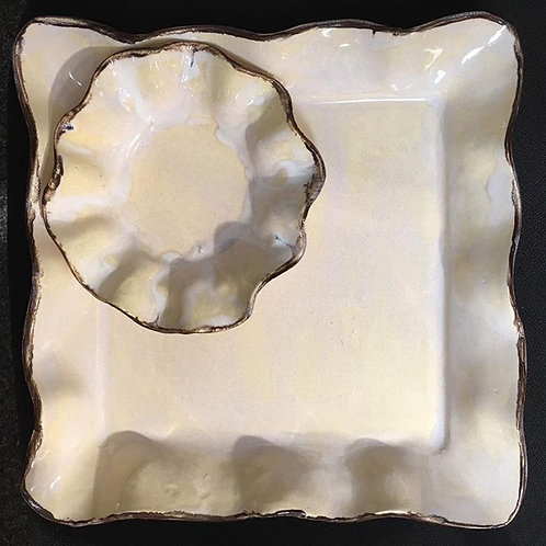 chip n dip magnolia ~ 13 x 9 x 1.5