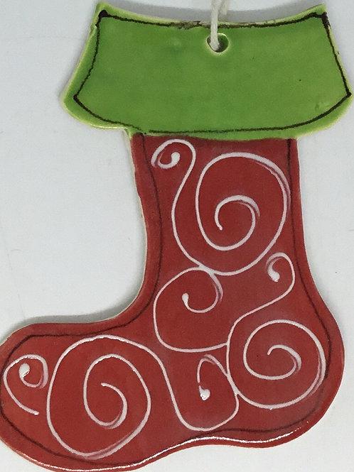 Stocking swirl
