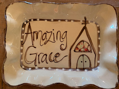 #108 Dessert Plate Church AG AW
