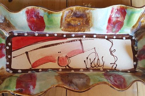Bread Tray santa tray H
