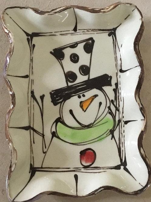 313 snowman hat dots