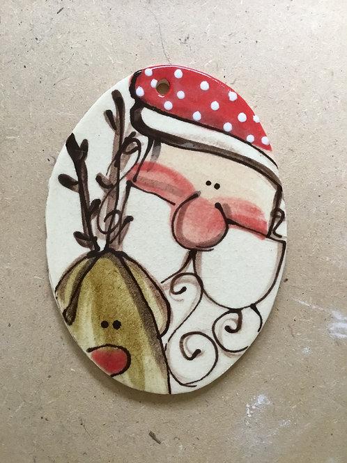 Santa reind orn