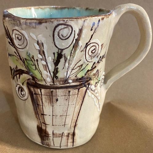 H-vase mug