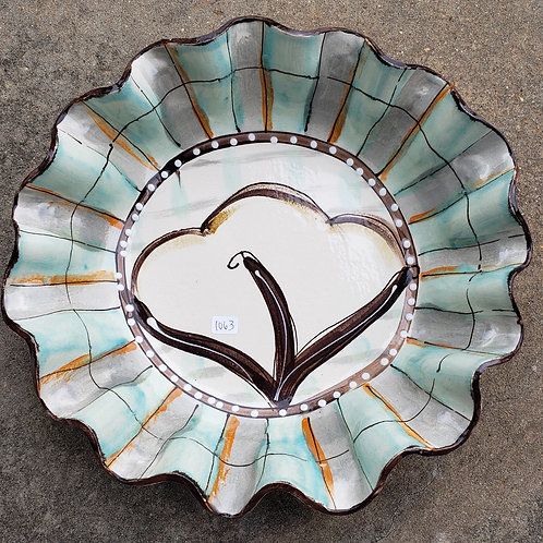 #712 Large Round Bowl Cotton Fall New