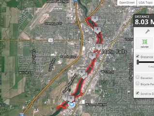 Idaho Falls Greenbelt-Trail Review