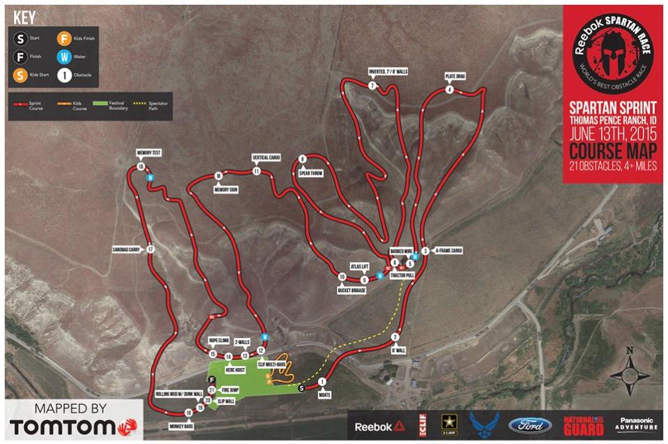 Map 2015 Boise Spartan