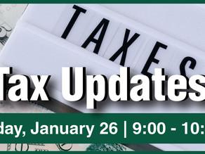Tax Updates - Zoom Seminar