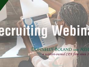 DBU Webinar - Recruiting