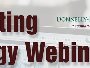 DBU Webinar - Marketing Strategy