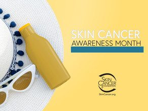 Wellness Topic - Skin Cancer Awareness Month
