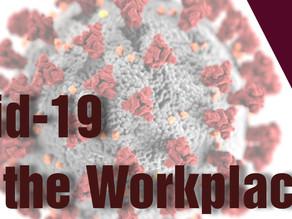 DBU Webinar - Covid-19 and the Workplace