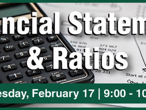 DBU Seminar - Financial Statements & Ratios