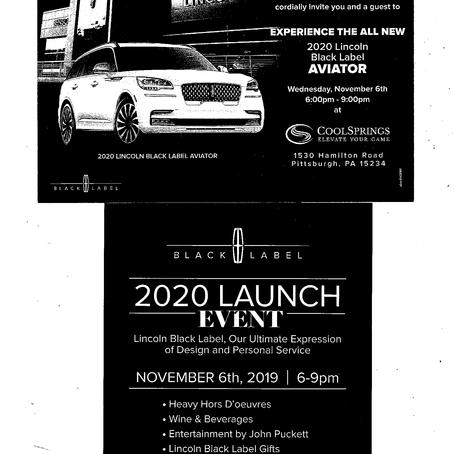 Benson Lincoln 2020 Event
