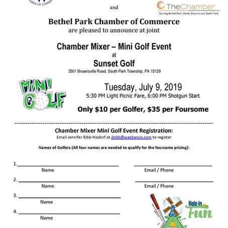 Mini Golf Event