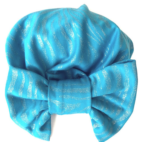 Turquoise Turban & Mask
