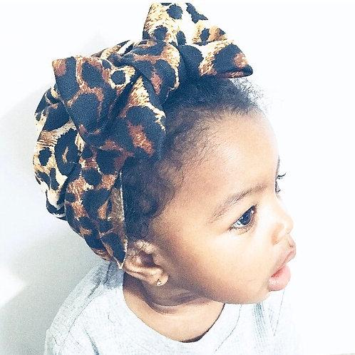 Baby Leopard Turban