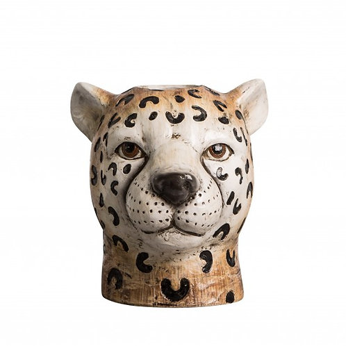 Large Cheetah Vase