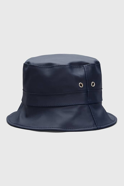 Navy Beckholmen Waterproof Bucket Hat