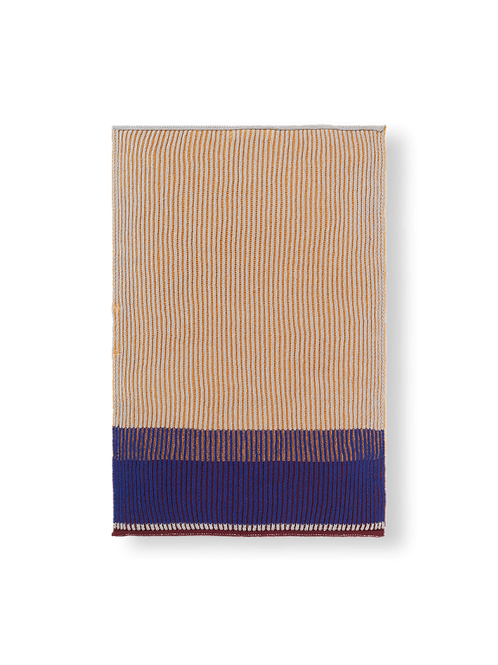 Akin Knitted Hand Towel Honey Gold