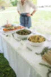 Wedding Reception Food Line