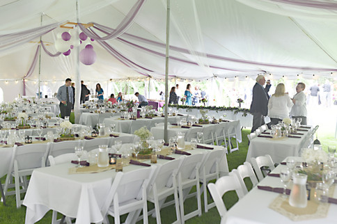 Wedding Reception Tables & Chairs