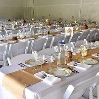 Reception Banquet Tables