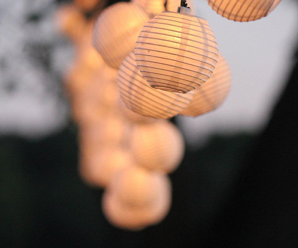 Wedding String lighting