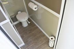 Luxury Restroom Trailer Toilet