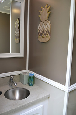 Luxury Restroom Trailer Sink