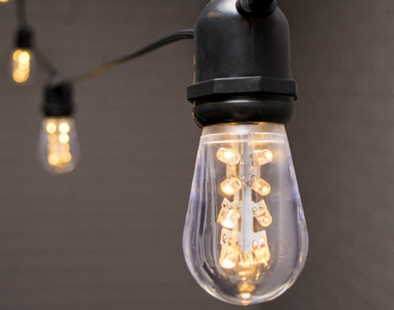 Rustic Edison String Lighting