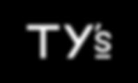 Ty's Wedding Rental & Services Logo