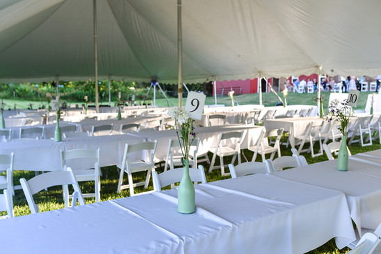 Wedding Reception Tables