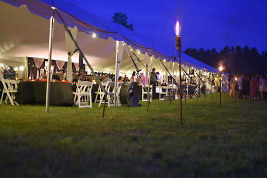 Evening Tent Reception