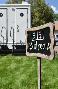 Luxury Bathroom Trailer